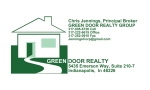 Our Business Card design for Green Door Realty