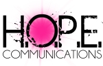 H.O.P.E. Communications Logo