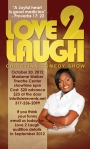 "Distinctive Marketing's ""Love 2 Laugh"" Business Card Back side"