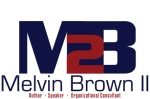 Official logo for author, speaker and organizational consultant Melvin Brown II
