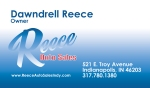 Reece Auto Sales Business Card Front